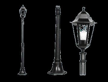 Immagine di Lampioni New York 1 luce su palo