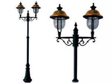 Immagine di Lampione Verona 2 luci su palo