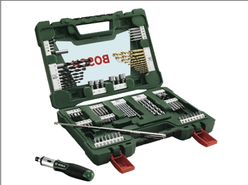Immagine di Set accessori Bosch 91 Pezzi