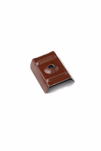 Immagine di Cappellotto con guarnizione di espanso - GRECA 20-25 Rosso Siena