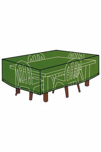 Immagine di Telo Cover per tavoli rettangolari con sedie