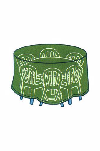 Immagine di Telo Cover per tavoli tondi con sedie