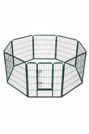 Picture of Box/ recinto per cani e animali da compagnia - 8 PANNELLI - H 100 cm