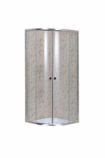 Immagine di Box doccia semicircolare Brixo Albatros