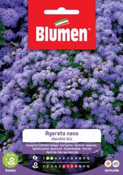 Picture of Confezione Semi di Agerato Nano Danubio Blu Blumen esterno aiuola vaso giardino
