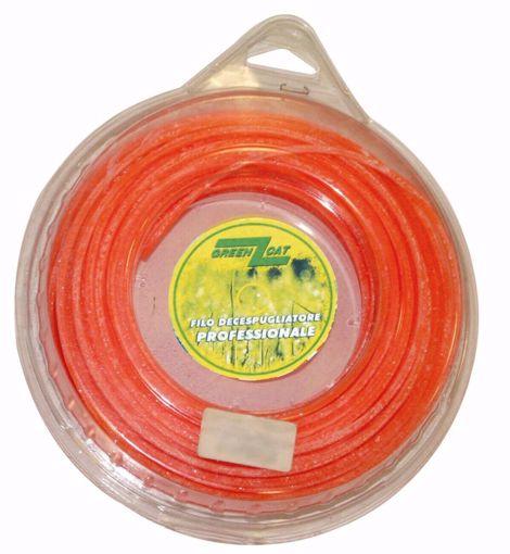 filo decespugliatore quadro arancione