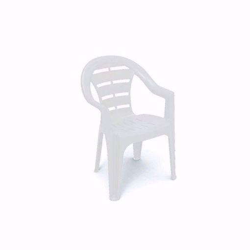 sedia impilabile moyo plastica
