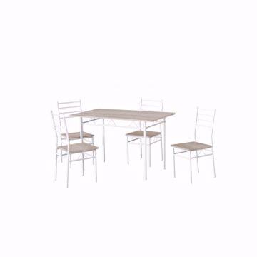 Immagine di Set Tavolo e 4 sedie MDF Porto