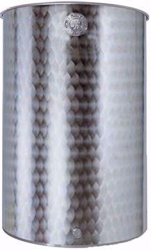 """Immagine di Botte per alimenti acciaio inox 18/10 LT. 200 """"Belvivere"""""""