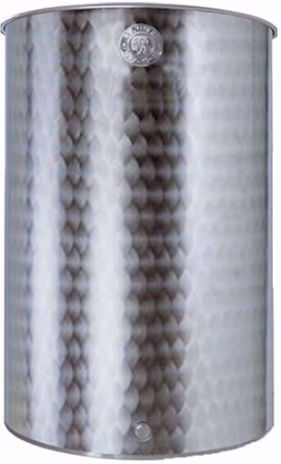 """Immagine di Botte per alimenti acciaio inox 18/10 LT. 150 """"Belvivere"""""""
