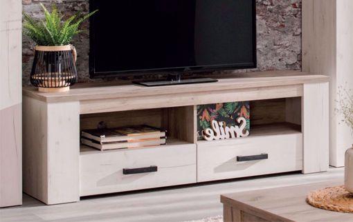 Picture of MOBILE PORTA TV ROVERE SBIANCATO