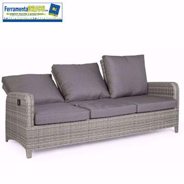 Immagine di Divano Kent reclinabile colore: grigio