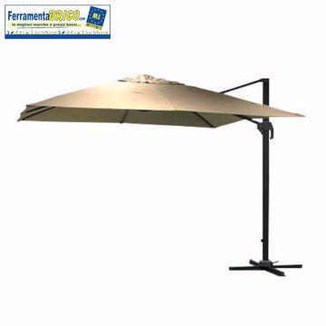 Immagine di Ombrellone  quadro Premium decentrato