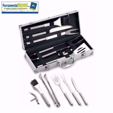 Picture of Set per barbecue ompagrill acciaio