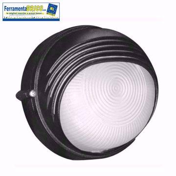 Immagine di Plafoniera lampada da esterno tonda modello: Milano