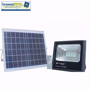 Immagine di Proiettore a led con pannello solare