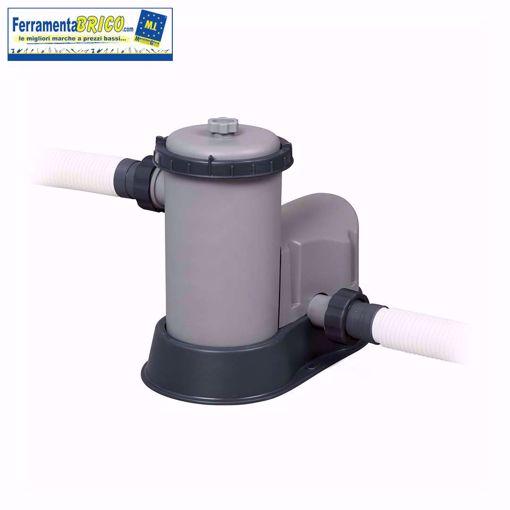 Picture of Pompa di filtraggio a cartuccia  per piscine 58389 Bestway