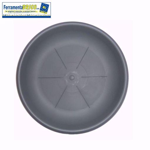 Immagine di Sottovaso diametro: cm 26 colore: Grigio