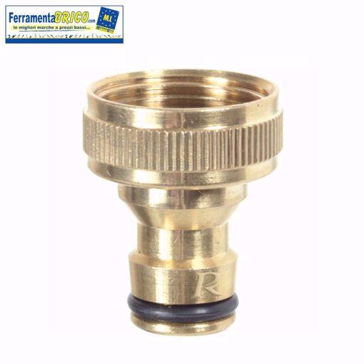 Picture of Presa rubinetto bimateriale ottone