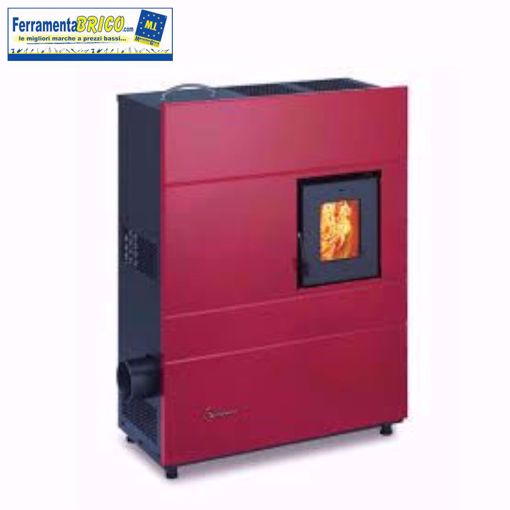 Picture of Stufa a pellet Wave 8.0 Rosso