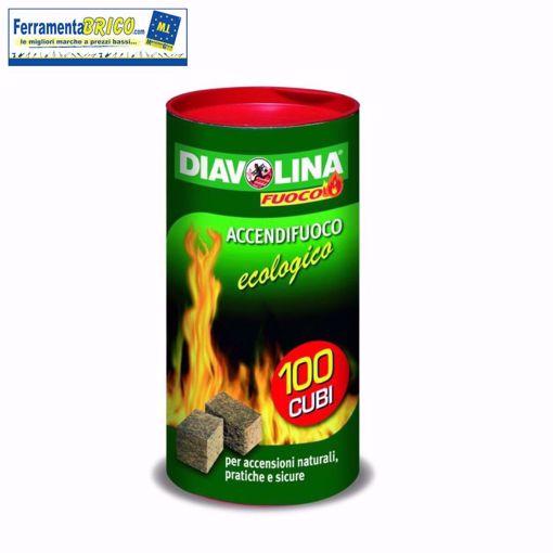 Picture of Diavolina accendi fuoco ecologica 100 pz.