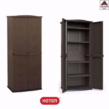 Picture of ARMADIO  KETER TOP RATTAN BROWN H179